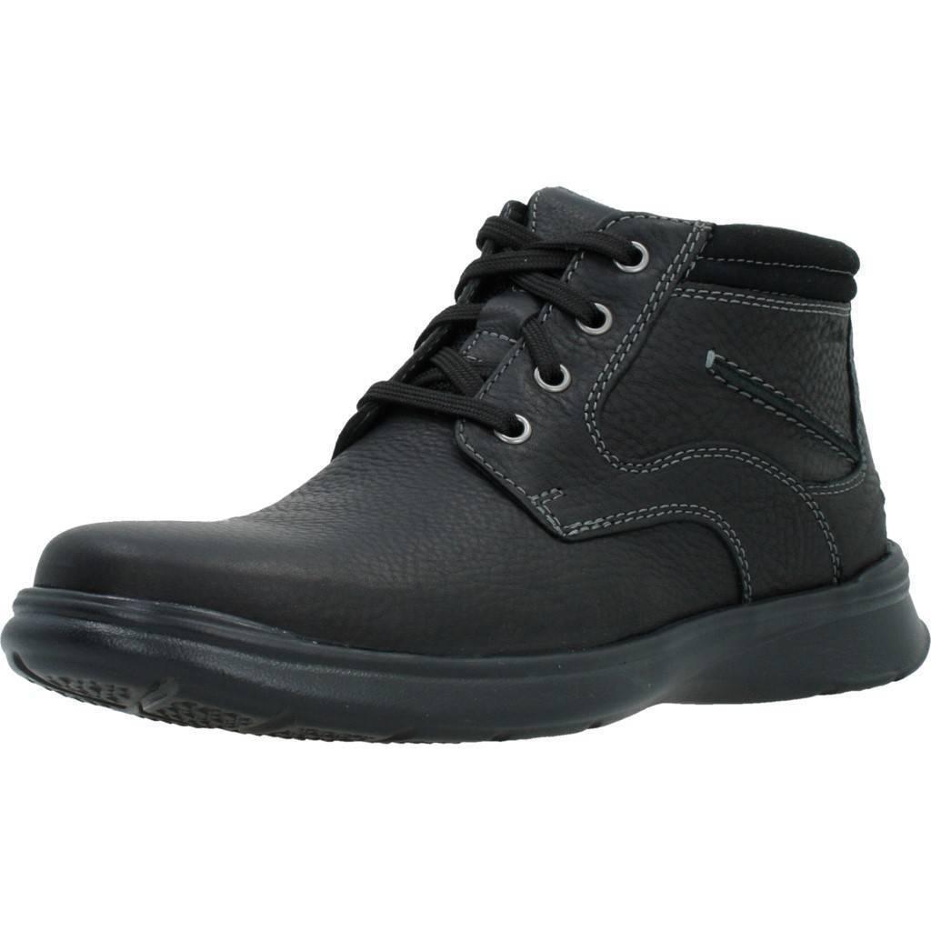 Clarks'Cotrell Rise 'Men's nero Cushioned Oiled Leather Chukka  stivali G Fit  nuova esclusiva di fascia alta