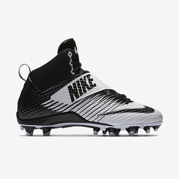 official photos 01335 3c779 Nike Lunarbeast Pro TD Football Cleats Shoes Size 12 Men Black  White  833421 100 for sale online   eBay