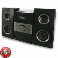 Stereo Home System Audio Cd Mp3 Player Am/fm Radio Gpx Compact Speakers Remote
