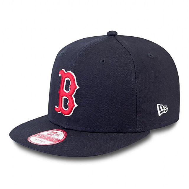 NEW ERA Boston Red Sox Essential 9Fifty Snapback Cap Navy BNWT