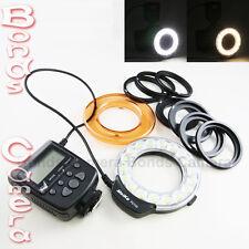 Meike FC-110 LED Light Macro Ring Flash for Canon Nikon Pentax Olympus camera