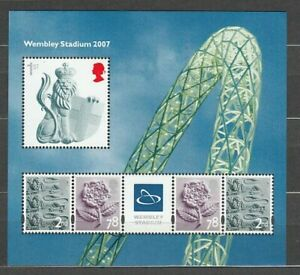 Great-Britain-Hojas-Yvert-47-MNH-Stadium-Of-Wenbley