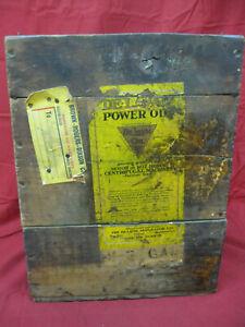 Vintage-Rarer-Delaval-Hand-Separator-Oil-Wooden-Original-Case-Shipping-Box