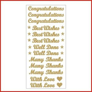Congratulations Best Wishes Words Vinyl Stickers Letters 13 Decals ...