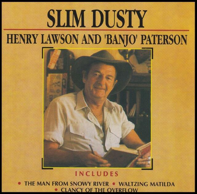 SLIM DUSTY (2 CD) HENRY LAWSON AND BANJO PATERSON ~ AUSTRALIAN COUNTRY *NEW*
