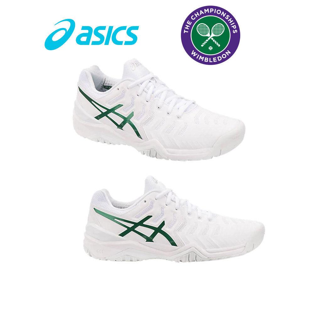 ASICS Men's Tennis shoes GEL Resolution 7 Novak Wimbledon Limited Edition