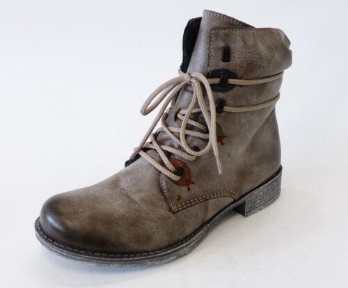 Boot Lace up Warm Grigio Boots 70827 Cigar Zippered 26 Stivaletti Rieker q4dRZq