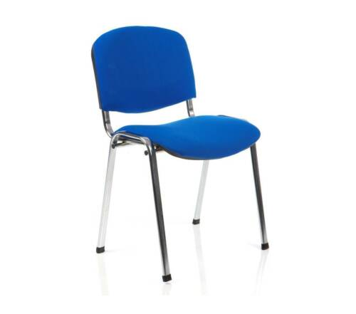 for FREE DELIVERY!! ISO Stacking ChairBlue FabricChrome FrameOrder 4