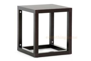 MODERN-BROWN-ACCENT-SIDE-END-TABLE-RECTANGLE-GEOMETRIC-CUBE-FRAMED-NIGHTSTAND