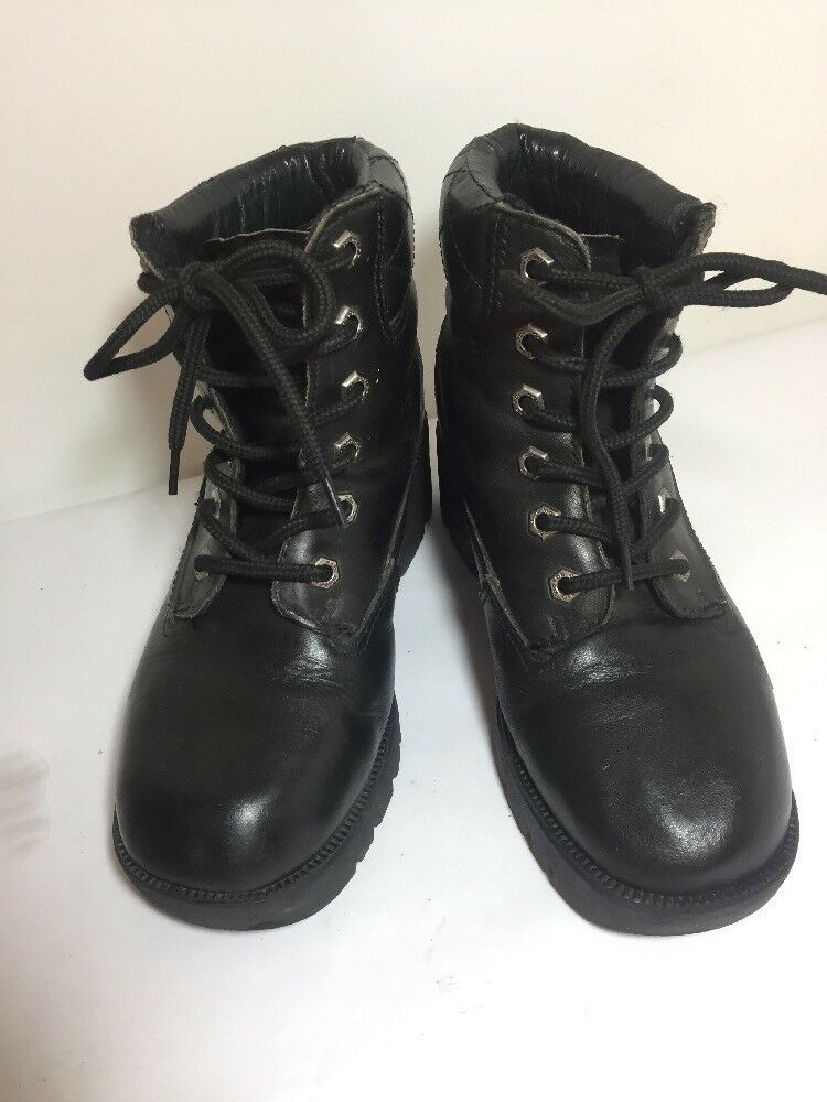 Harley-Davidson Women's Low Motorcycle Boot, size 7 Eur 38 Lace Up Oil Resistant