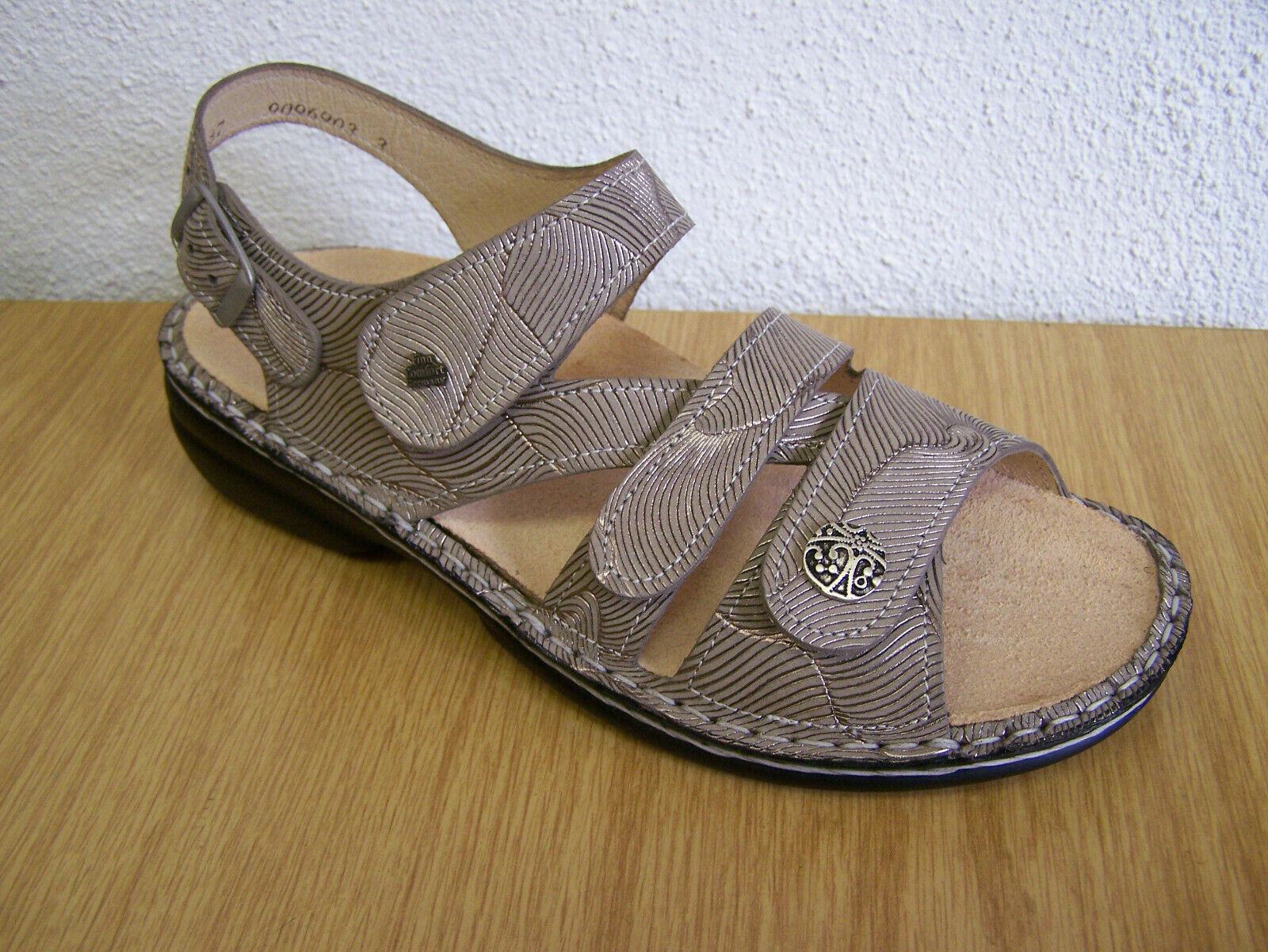 Finn comfort Gomera sand storm, with tote, sole
