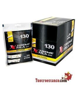 Filtri-X-Trem-Xtra-lungo-8mm-15-borse-di-130-filtri