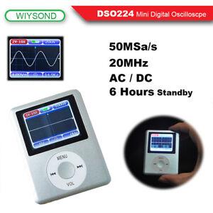 DSO224-20MHz-100MSa-s-Mini-portatil-bolsillo-Osciloscopio-Digital-LCD-De-Mano