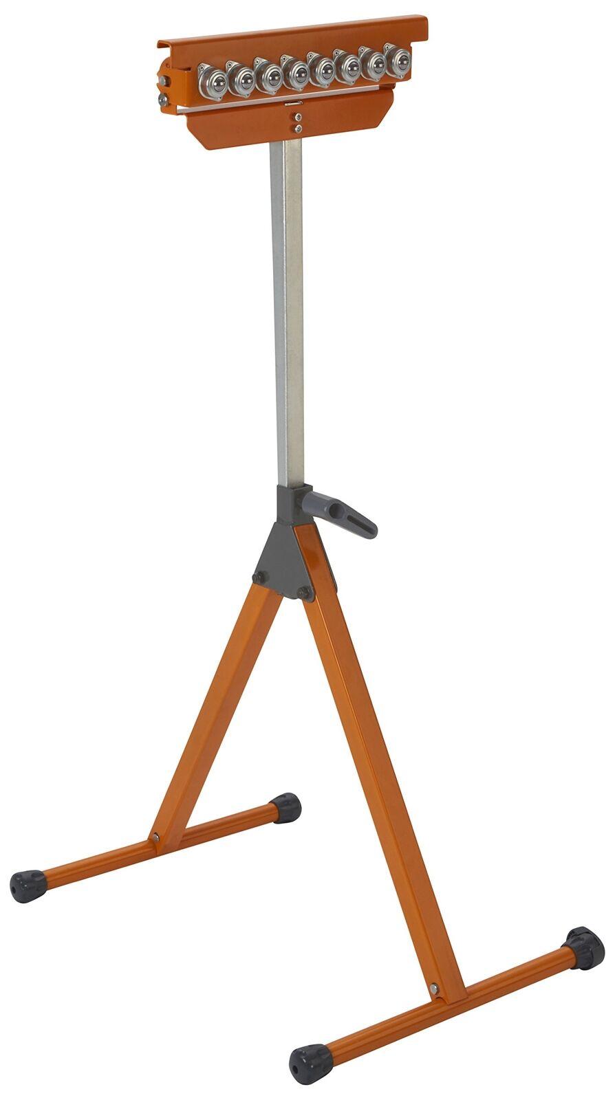Portamate PM-5093 Tri Function Pedestal Roller 11.25  Polished Steel Roller, 6