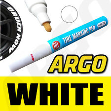 WHITE TYRE TIRE MARKER MARKING PAINT PEN WATER PROOF PEUGEOT 206