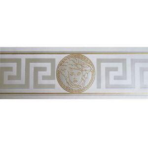 silver \u0026 gold versace wallpaper border modern satin greek keyimage is loading silver amp gold versace wallpaper border modern satin
