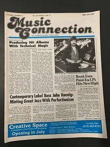 Vtg-Music-Connection-Rock-Mag-Forbidden-Zone-Surf-Punks-Dixie-Dregs-Blue-Wave