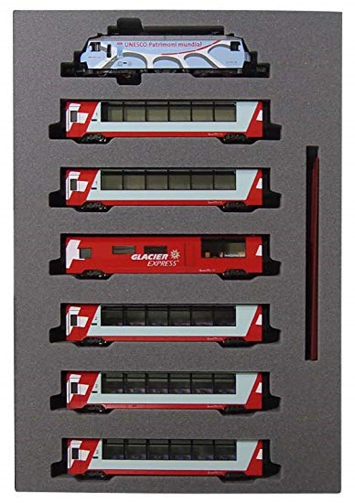 KATO 10-1219 railroad railroad railroad model Alps glacier limitedexpress UNESCO 7set JAPAN used 1e8c33