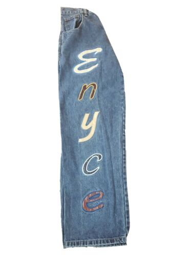 Encye Clothing Company Embroidered Jeans 34