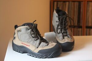 Garmont-Tan-Leather-Gore-Tex-Lace-Up-Vibram-Sole-Hiking-Boots-Women-039-s-US-Size-7