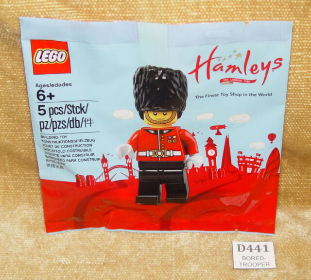 LEGO Sets: Minifigures: 5005233-1 Royal Guard polybag HAMLEY'S EXCLUSIVE New MIB