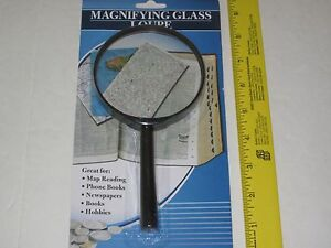 """and Collecting Crafts Great for Hobbies Magnifying Glass 3 1//2/"""""""