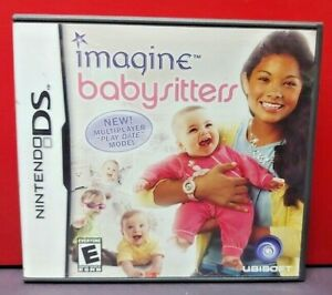 Imagine-Babysitters-Nintendo-DS-DS-Lite-3DS-2DS-Game-Complete-Tested