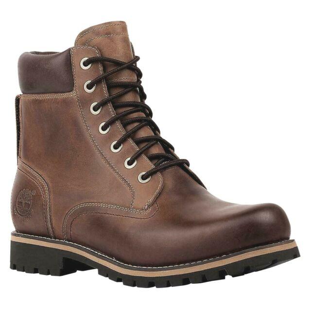 estudiante universitario celebrar Dibujar  Timberland Men's RUGGED 6-INCH WATERPROOF Boots Copper Roughcut 74134 e for  sale online