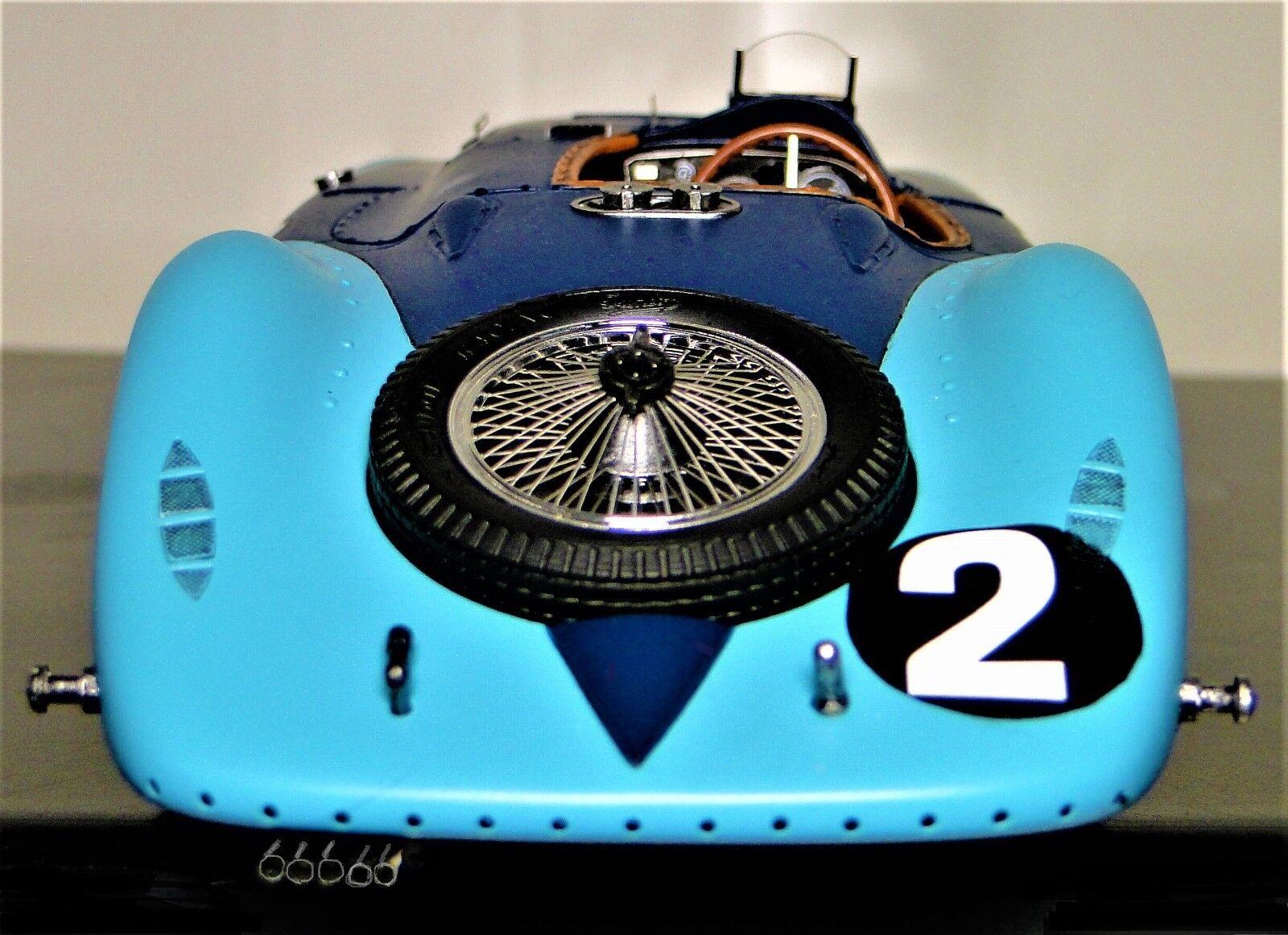 Coche De Carrera Bugatti 57 Sport 18 Vintage F 1 Grand Prix 24 concepto 12 Carrusel Azul SC