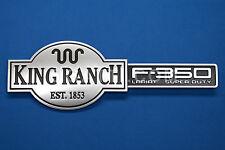 """""""F-350 KING RANCH"""" BRAND NEW OEM EMBLEM TAILGATE F350 2009-2012# 3C3Z-9942528-GA"""
