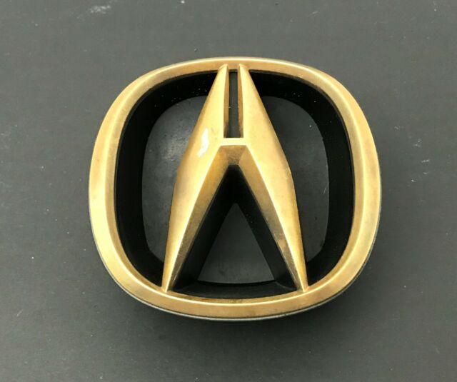 99 2000 01 02 Acura RL 3.5 Front Grille Emblem Badge Logo