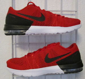 a6b6fae779c47 Details about Men's Nike Air Max Typha Training Shoes, New Red Black Sport  Mesh Running 11.5