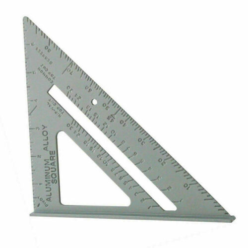 """New 7/"""" Steel Roofing Roofer Square Carpenters Wood Working 7 Inch Alloy Tool k11"""