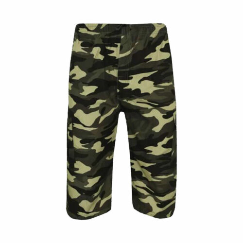 NEW MENS ARMY CASUAL WORK CARGO COMBAT CAMOUFLAGE 3//4 SHORTS