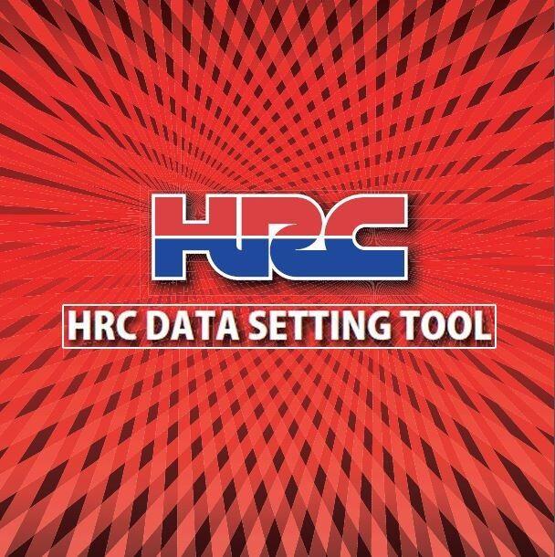 Honda HRC Data Setting Tool software for CRF 250 450 r