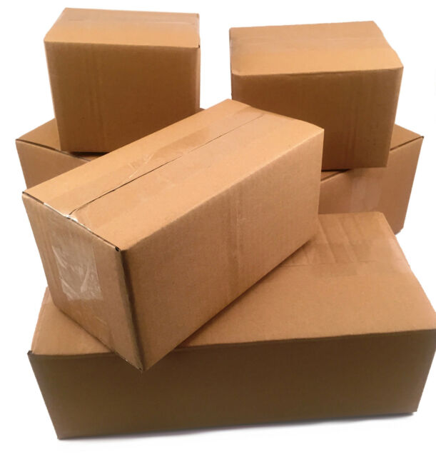100 12x6x4 Corrugated Cardboard Boxes -packing -cartons -mailing ...