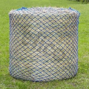 Round-Bale-Haynet-Small-Holes-50mm-Slow-Feed-Hay-Net-2Mx1-5M-Field-Yard-Barn