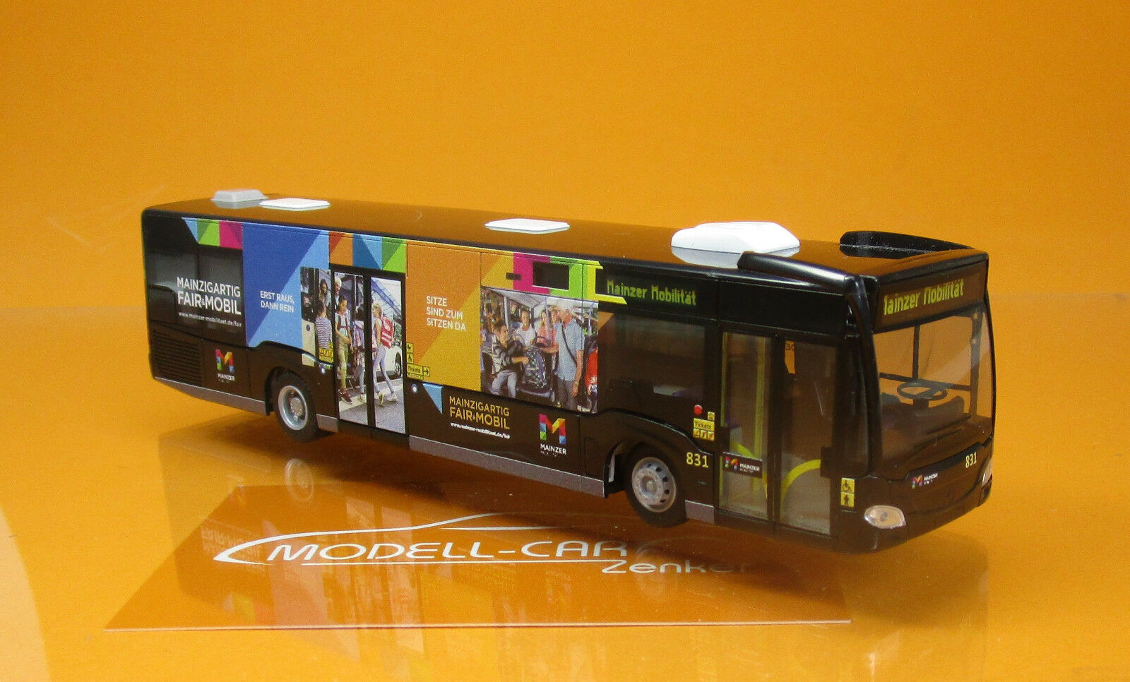 Rietze 68733 MERCEDES CITARO 11 Mainzer Mobilité FAIR & Mobile Scale 1 87