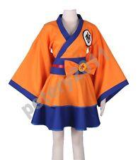 Dragonball Z Kimono Dress Son Goku Character GO Kakarotto Cosplay Costume Anime