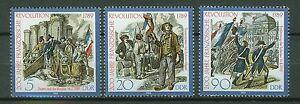 ALEMANIA-RDA-EAST-GERMANY-1989-MNH-SC-2757-59-French-Revolution-bicent