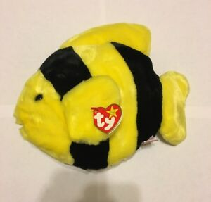 Bubbles the Fish TY Beanie Baby Babies 10 inch Smoke-free Home ... 8d84f3a56d77