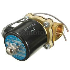 1/2'' NPT 12V Electric Brass Solenoid Water Air Valve Gas Diesel Normal Closed