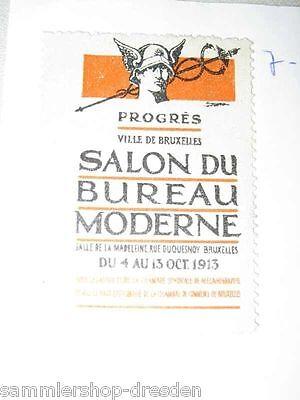Sm134 Reklamemarke Bruxelles Progres Ville De Bruxelles Salon Du Bureau Moderne Modernes Design