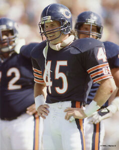 huge selection of 78cc2 f4bed Details about GARY FENCIK 1986 CHICAGO BEARS 8X10 PHOTO