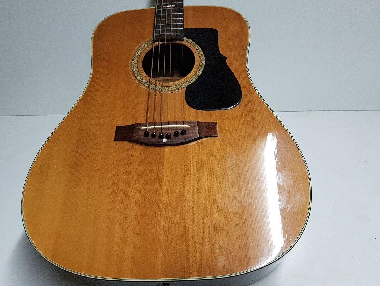 70's Kasuga Steel String Acoustic-Made in Japan
