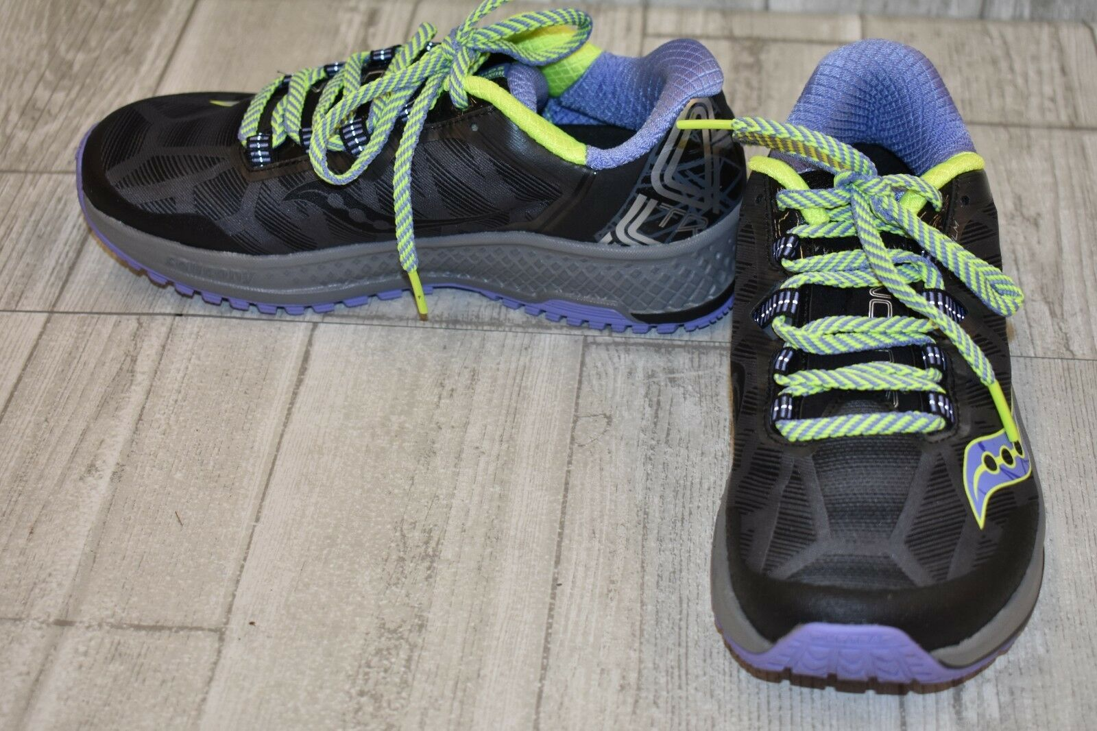 Saucony Koa TR Athletic shoes - Women's Size 7 - Grey Purple Lime
