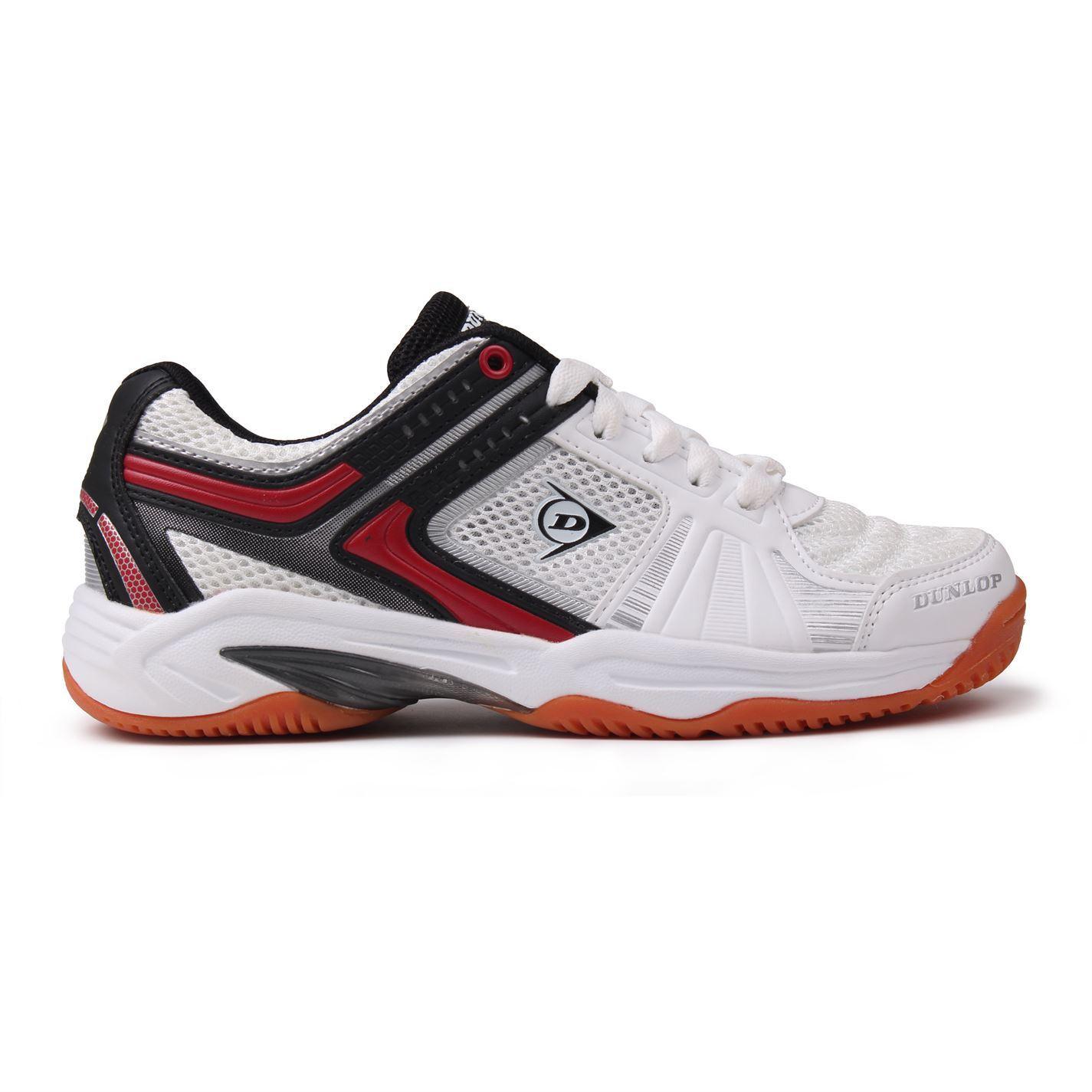 Hommes! s Boyes 'juniur portant la marque Dunlop Respirant Intérieur Cour Chaussures Baskets Sport
