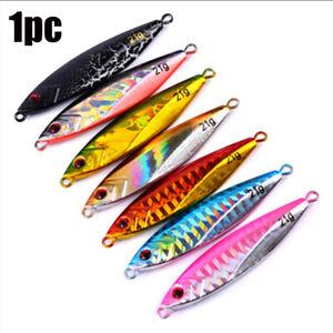 Colorido-Senuelos-de-pesca-Jig-metal-rebanada-Hilado-de-los-cebos-Plomo-casting