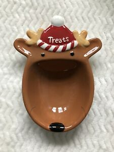 Hallmark-Reindeer-Treats-For-The-Holidays-Christmas-Dishwasher-Safe-Brown-Red