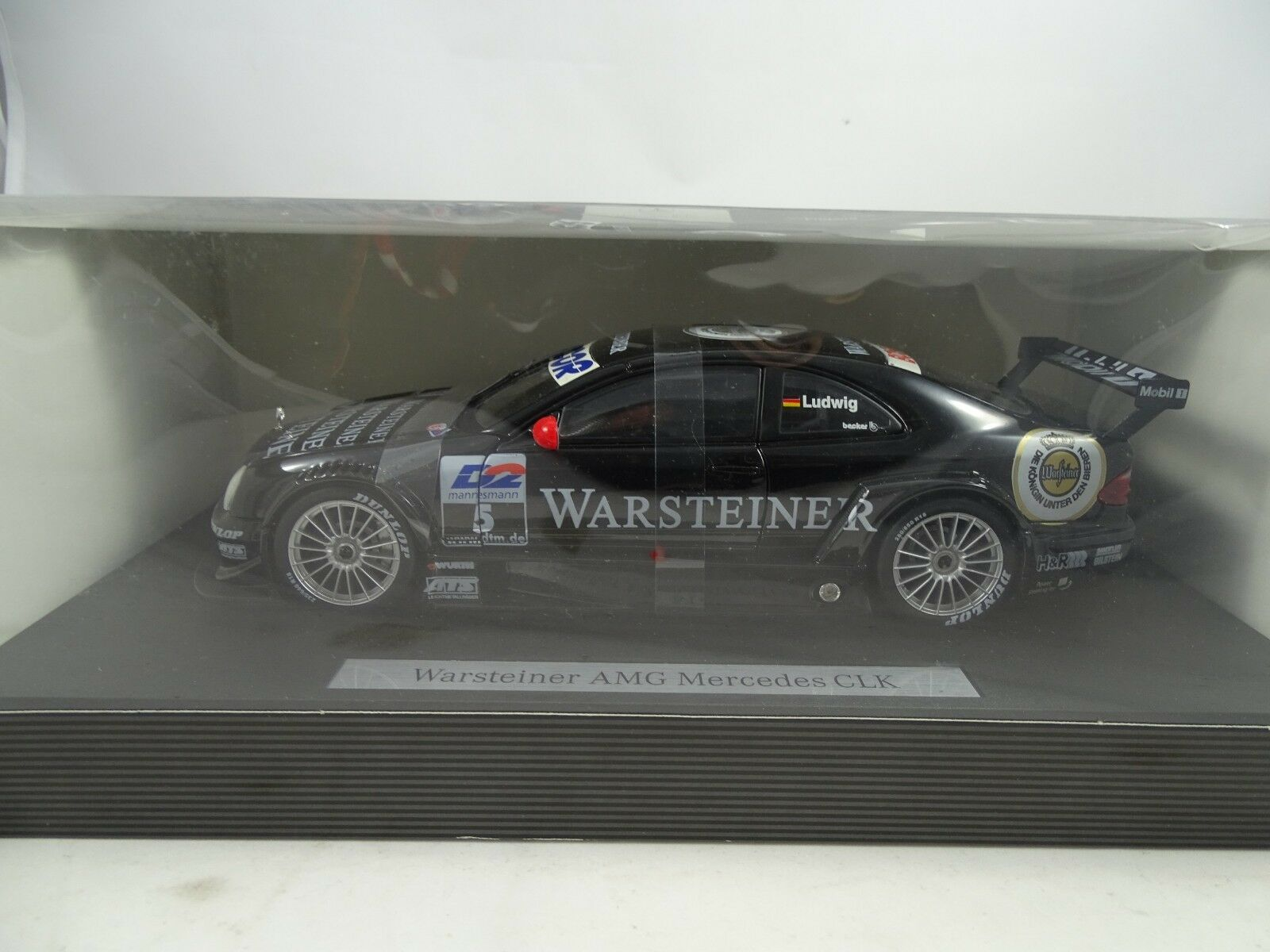 1 18  Museumsmodell  B66962109 Warsteiner AMG Mercedes CLK   5 Ludwig  RARITÄT§